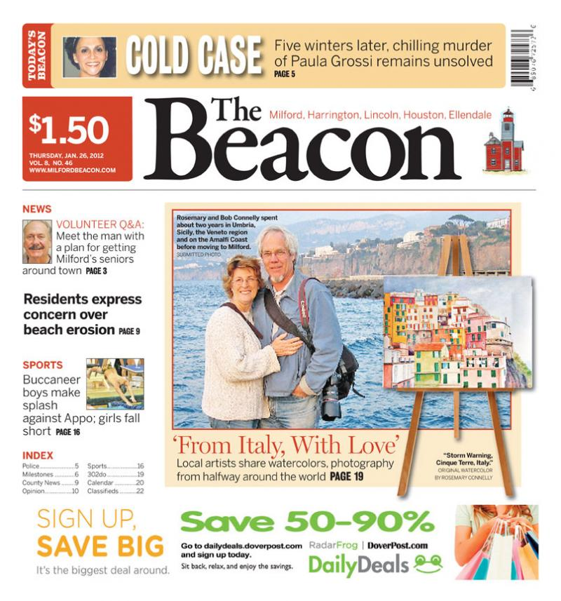 beacon front page